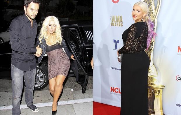 Galeria mais cheinhas: Christina Aguilera (Foto: Agências Brainpix e Getty Images)