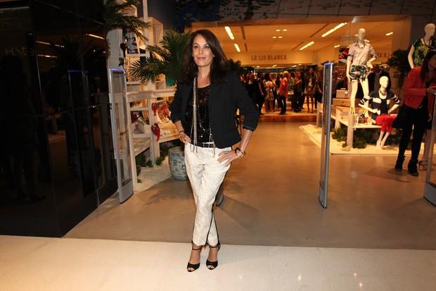 Carolina Ferraz em evento em São Paulo (Foto: Manuela Scarpa / Foto Rio News)