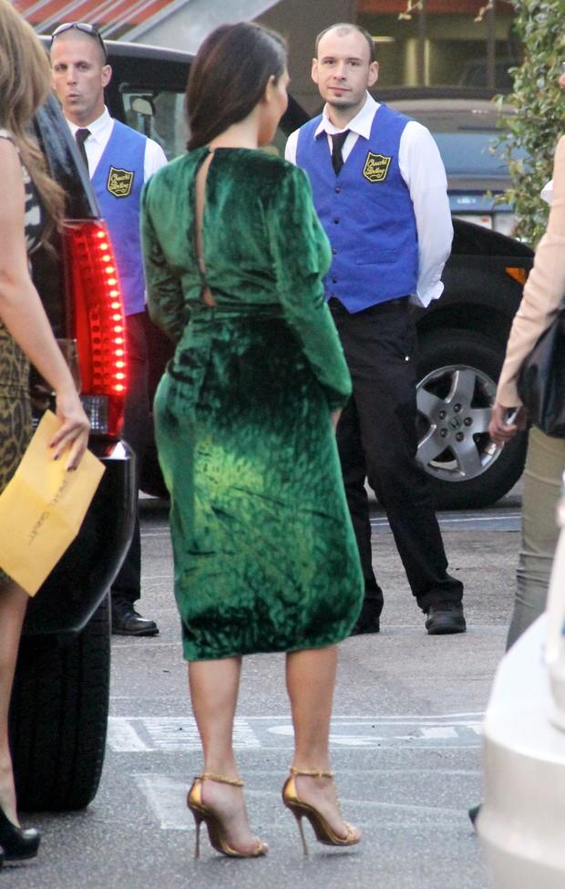 Kim Kardashian em Los Angeles, nos EUA (Foto: X17/ Agência)