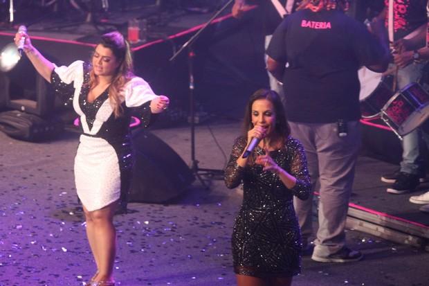 Ivete Sangalo canta com Preta Gil em show no Rio (Foto: Marcello Sá Barretto/ Foto Rio News)