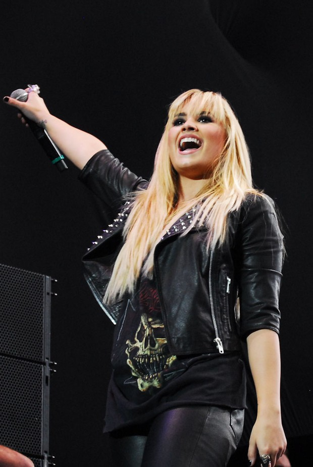 Demi Lovato (Foto: Manuella Scarpa/PhotoRio News)