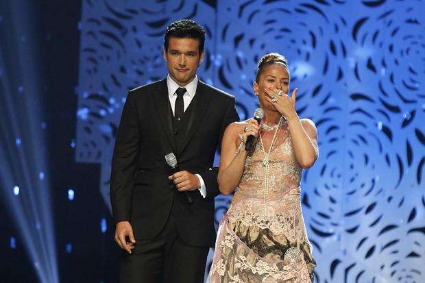 Adriane Galisteu se emociona durante Miss Brasil (Foto: Marcos Serra Lima/ EGO)