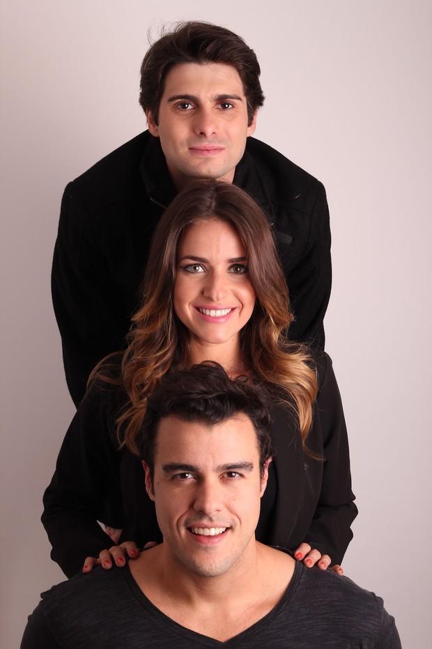 """Monique Alfradique, Joaquim Lopes e Bruno Barros estream o espetáculo """" PIROU?"""" em Niterói, RJ (Foto: Divulgação)"""