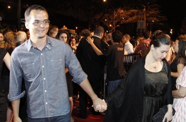 Wagner Moura no Festival do Rio (Foto: Isac Luz / EGO)