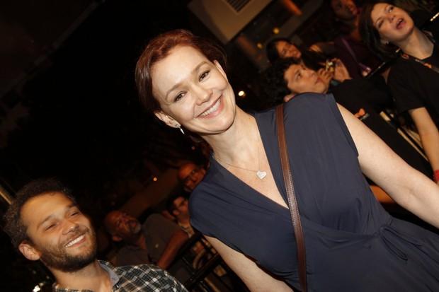 Julia Lemmertz no Festival do Rio (Foto: Isac Luz / EGO)