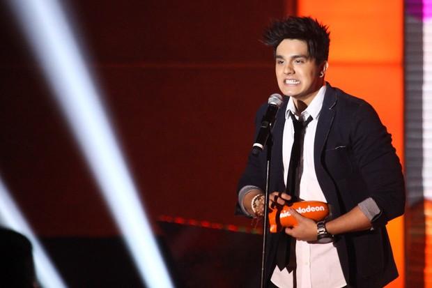 Luan Santana no Meus Prêmios Nick em São Paulo (Foto: Manuela Scarpa/ Foto Rio News)