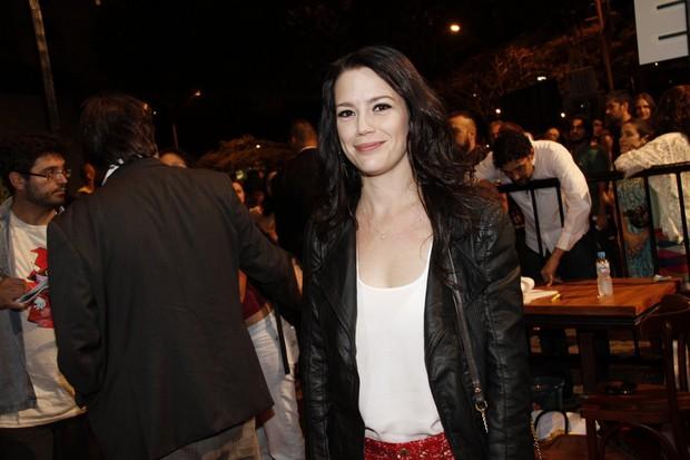 Natália Lage no Festival do Rio (Foto: Isac Luz / EGO)