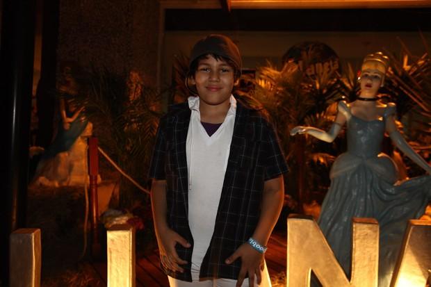 Ryan, filho de Simony, em festa em São Paulo (Foto: Manuela Scarpa/ Foto Rio News)