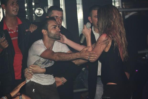 Wanessa em boate Gay em Campinas, SP (Foto: Fred Pontes / Divulgação)