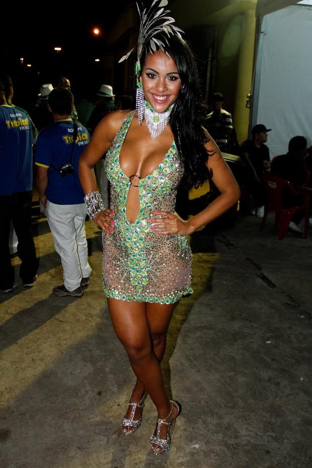 Aline Bernardes (Foto: Danilo Carvalho e Thaís Aline / AgNews)