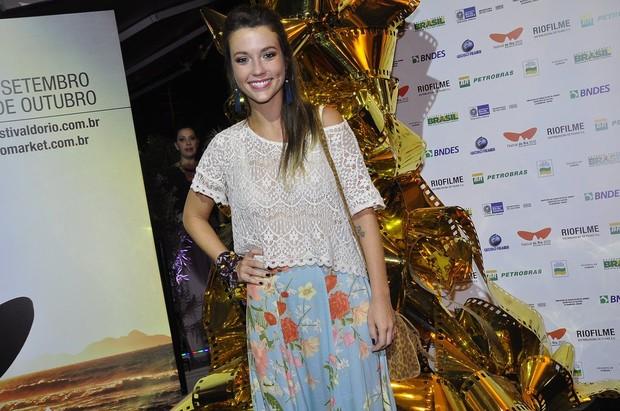 Juliana Didone no Festival do Rio (Foto: Roberto Teixeira/ EGO)