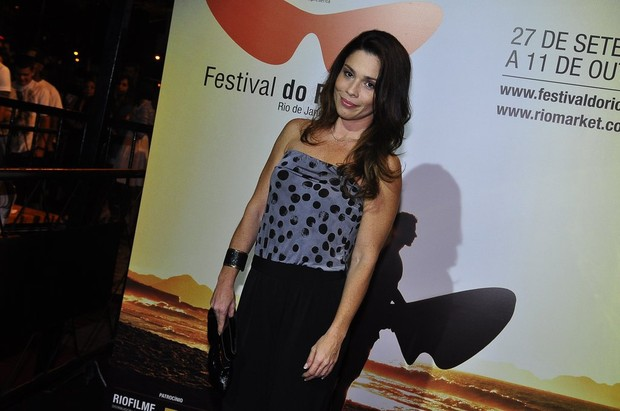 Ex-BBB Thalita Lippi no Festival do Rio (Foto: Roberto Teixeira/ EGO)