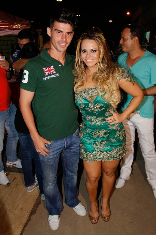 Viviane Araújo e Radamés (Foto: Danilo Carvalho e Thaís Aline / AgNews)