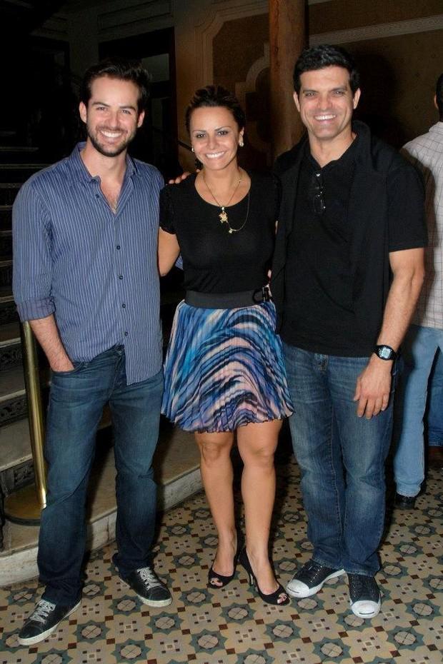 Viviane Araújo, BrunoDubeux e JorgeMofatti (Foto: Divulgação / Marcio Attie)