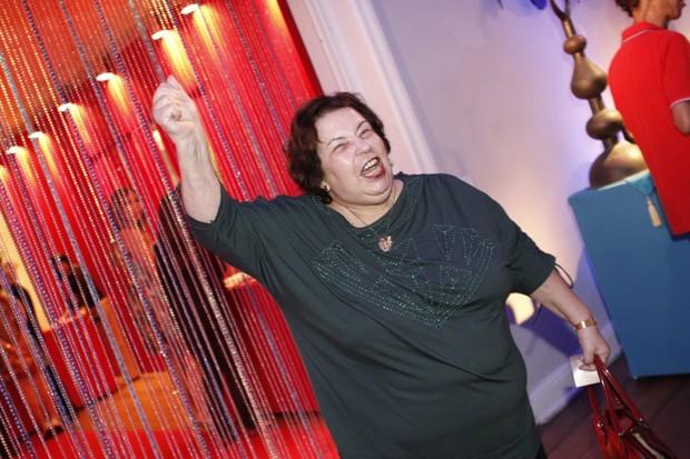 Nana Caymmi na festa de lançamento de 'Salve, Jorge' (Foto: Isac Luz / EGO)
