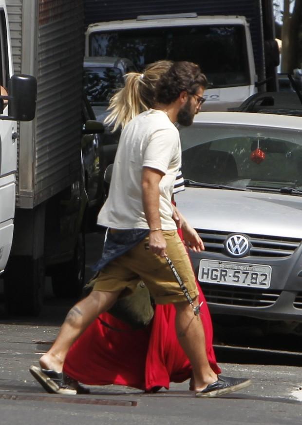 Bruno Gagliasso e Giovanna Ewbank (Foto: Delson Silva/Agnews)