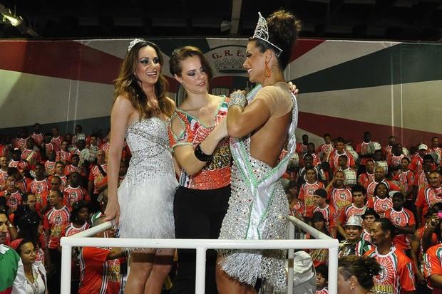 Ana Furatado, Paolla Oliveira e Carla Prata (Foto: Roberto Teixeira/EGO)