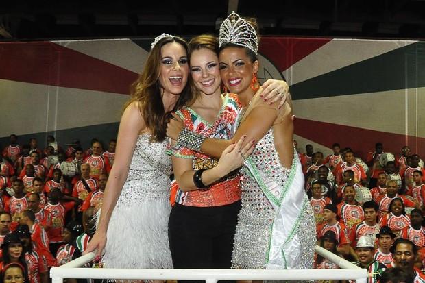 Ana Furtado, Paolla Oliveira e Carla Prata (Foto: Roberto Teixeira/EGO)