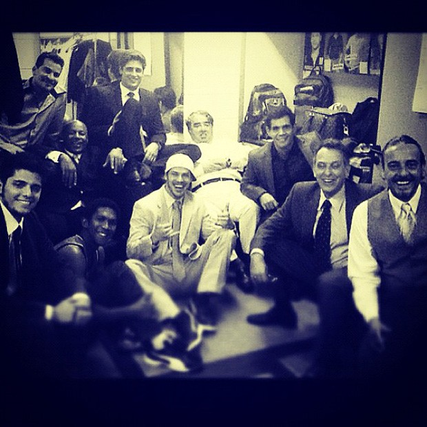 Daniel Rocha posta foto com elenco de 'Avenida Brasil' (Foto: Instagram / Reprodução)