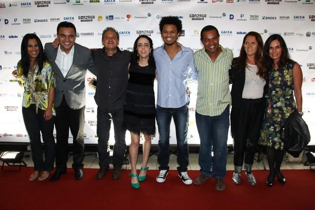 """Elenco do filme """"Gonzaga - de pai pra filho"""" (Foto: Manuela Scarpa / Foto Rio News)"""