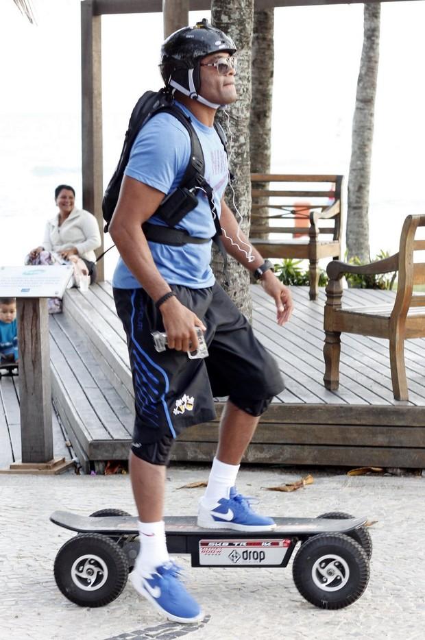 Anderson Silva (Foto: Roberto Cristino/ Photo Rio News)