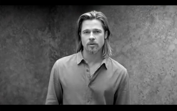 Brad Pitt na campanha no novo Chanel N5 (Foto: Reproduo)