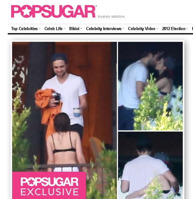 Rob e Kristen  (Foto: Reprodução / popsugar.com)