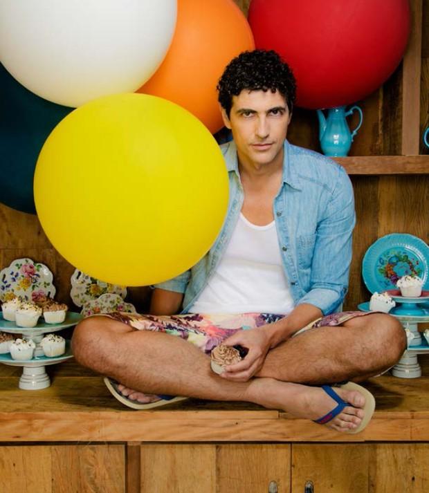 Reynaldo Gianecchini na 'Revista Cult' (Foto: Eber Figueira / Revista Cult)
