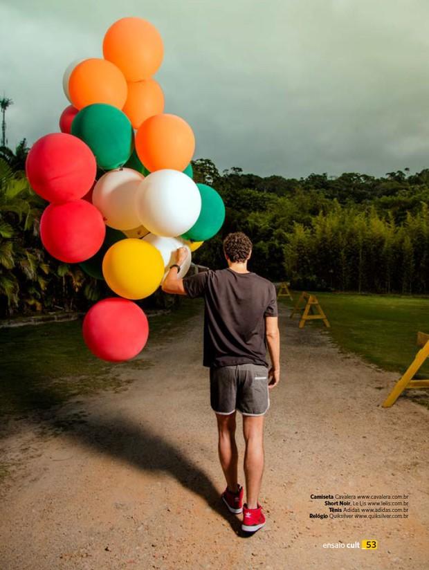 Reynaldo Gianecchini na revista Cult (Foto: Eber/Revista Cult)