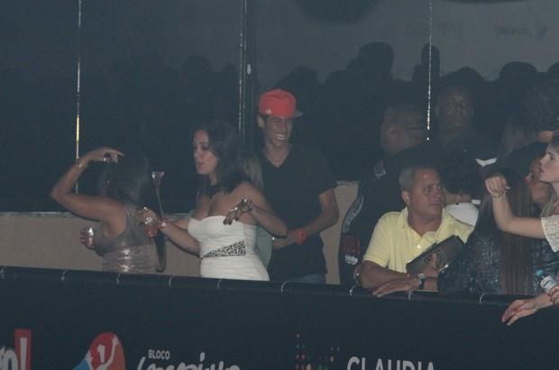 Neymar em show de Claudia Leitte no Rio (Foto: Marcello Sá Barretto/ Foto Rio News)