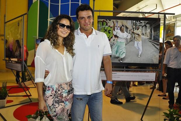 Nanda Costa e Rodrigo Lombardi (Foto: Roberto Teixeira/EGO)