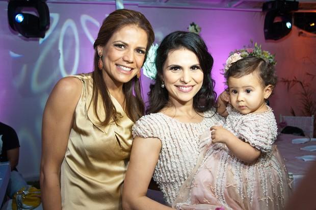 Nivea Stelmann no aniversário da filha de Aline Barros (Foto: Divulgação /  Samuel Santos Klicksam)
