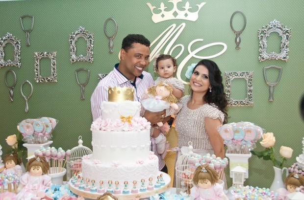 Aniversário da filha de Aline Barros (Foto: Divulgação /  Samuel Santos Klicksam)