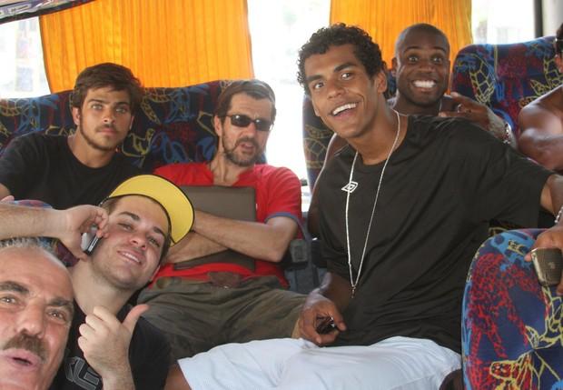 Planet Globe já no ônibus (Foto: Cleomir Tavares/Divulgação)