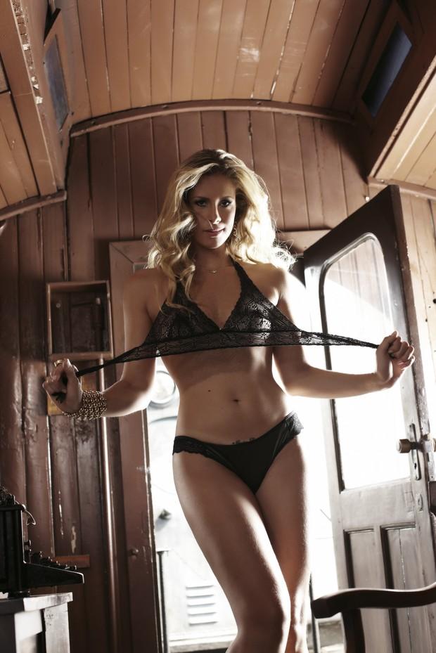 Rachel Gutvilen (Foto: Divulgação Revista Sexy)
