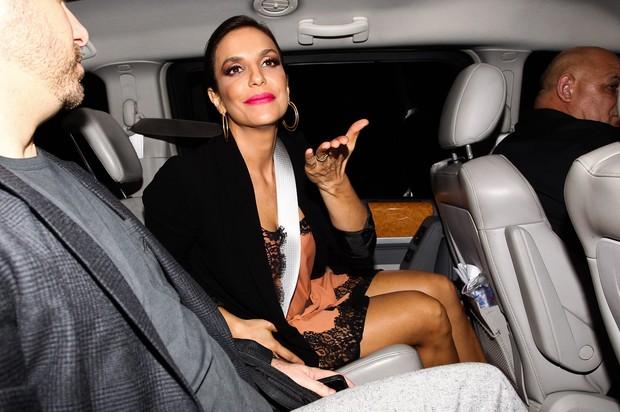 Ivete Sangalo vão ao jantar da Louis Vuitton em SP (Foto: Manuela Scarpa/Foto Rio News)