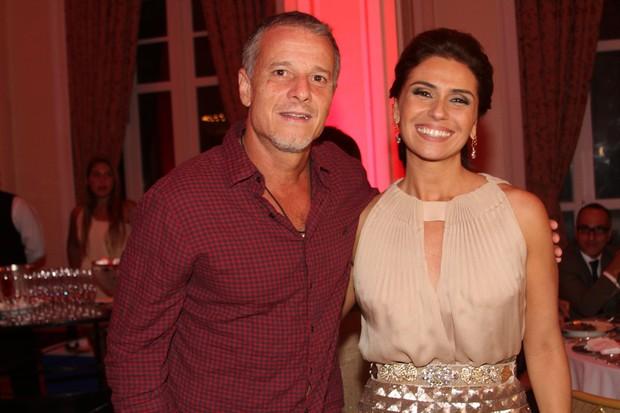 Marcello Novaes e Giovanna Antonelli em festa no Rio (Foto: Cleomir Tavares/ Divulgação)
