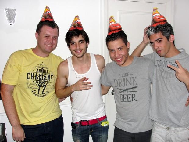 Fiuk comemora aniversário (Foto: Divulgação)