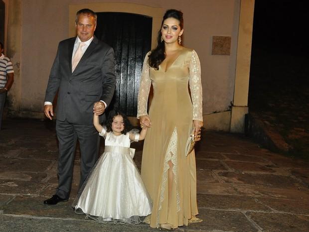 Casamento da estilista Renata Gomes (Foto: Roberto Teixeira/Ego)
