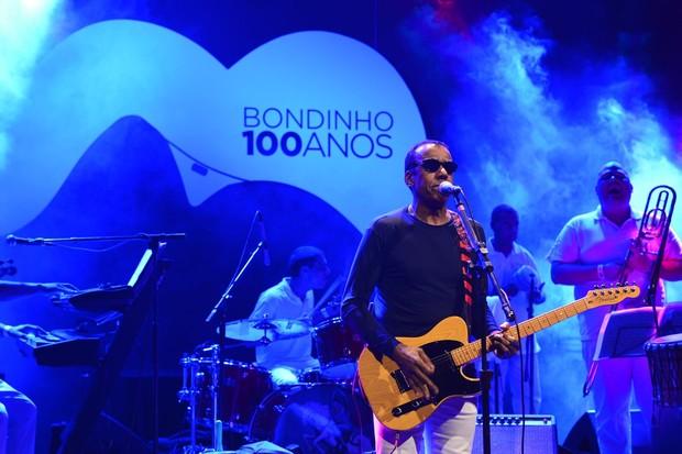 Jorge Ben Jor toca em evento de comemoração de 100 anos do Bondinho (Foto: André Muzell/ Ag. News)