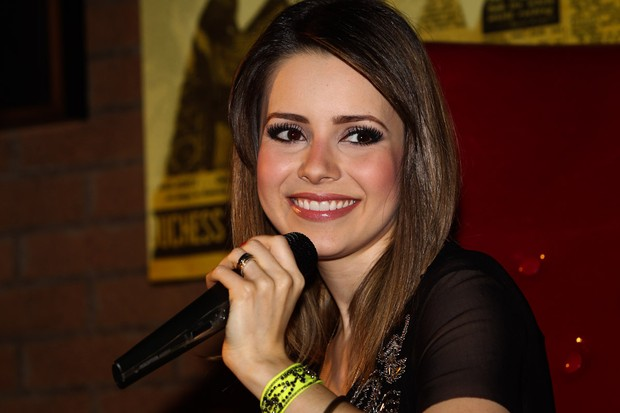 "Sandy lança EP ""Princípios, Meios e Fins"" em SP (Foto: Manuela Scarpa/Fotorio News)"
