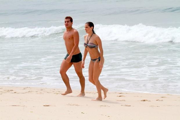 Deborah Secco e Thiago Martins (Foto: Dilson Silva/AgNews)
