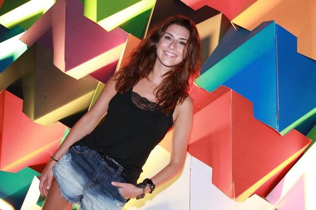 Fernanda Paes Leme em evento no Rio (Foto: Thyago Andrade/ Foto Rio News)