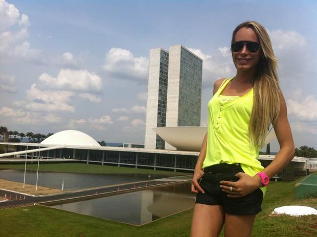 Carol Marra em Brasilia (Foto: Imprensa CM/Divulgação)