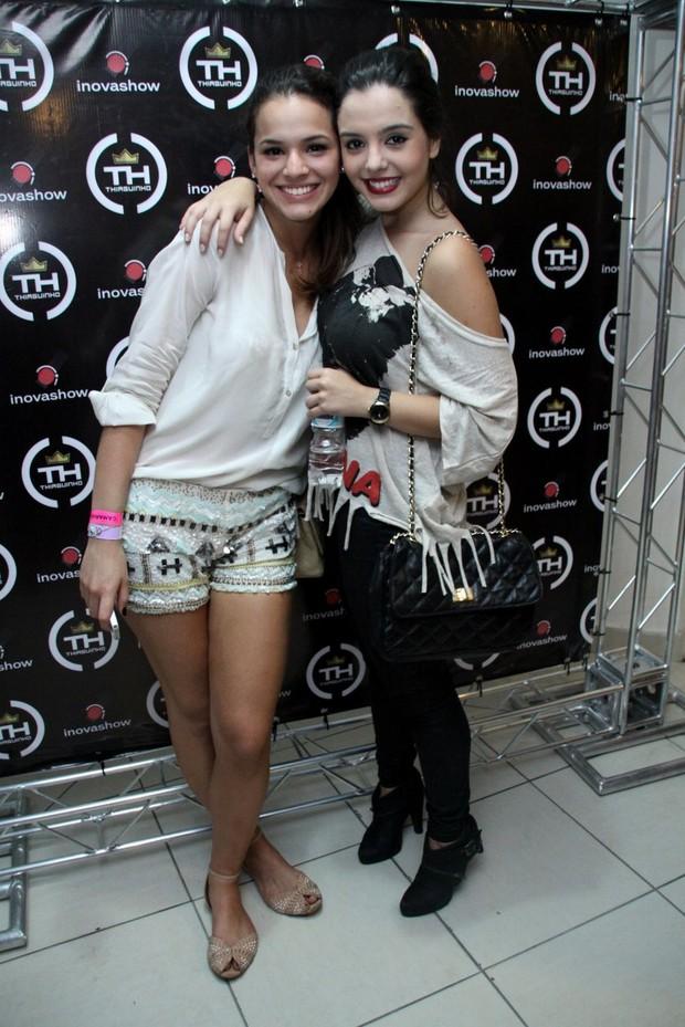 Bruna Marquezini e Giovanna Lancellotti (Foto: Graça Paes/Foto Rio News)