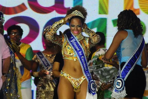 Coroação do Rei Momo e Rainha do Carnaval (Foto: Roberto Teixeira/EGO)