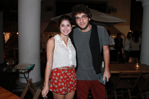 Chandelly Braz e Humberto Carrão (Foto: Anderson Borde/AgNews)