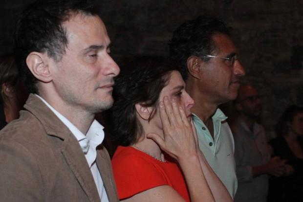 Drica Moraes se emociona (Foto: Anderson Borde/AgNews)