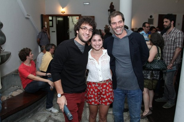 Chandelly Braz,  Humberto Carrão e Luiz Henrique Nogueira (Foto: Anderson Borde/AgNews)