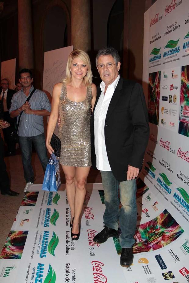 Antônia Fontenelle e Marcos Paulo (Foto: Orlando Oliveira / AgNews)